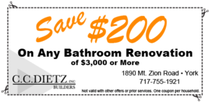 Custom Bathroom Remodeling Contractor York, Pennsylvania