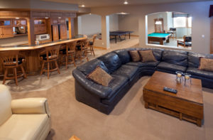 basement remodeling in York, PA